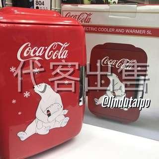代客出售- <<100%全新未用過>> COCACOLA 可口可樂 5L 迷你冷暖雪櫃 迷你冰箱 車用冰箱