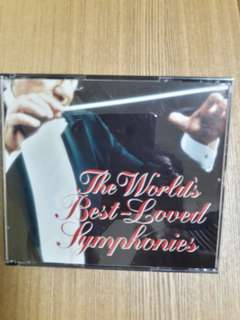 The world's best loved symphonies (a set of 4 CDs)