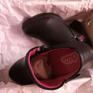Boots Black for girls