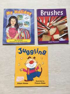 Set of 3 Children English books