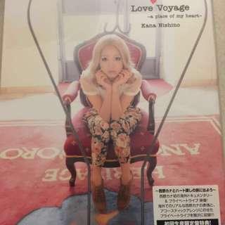 Kana Nishino 日版dvd 西野加奈 99% new 有貼紙 初回版