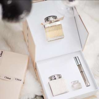 CHLOÉ 豪華香水禮盒套裝Signature Fragrance Perfume deluxe Gift Box Set chloe