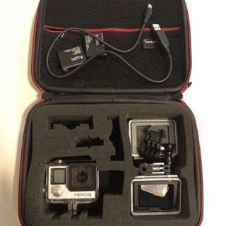 GoPro Hero 4 Black + accessories