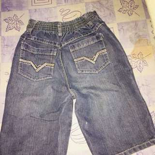 Kids Sturdy Maong Pants