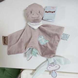 🚚 寶寶安撫巾 非常實用  !!    男  女寶寶  都可以有安撫的效果  (  全新的 呦!)