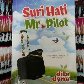 Novel Suri Hati Mr Pilot