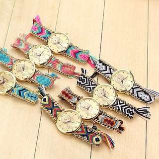 Handmade Braided Dreamcatcher Watch