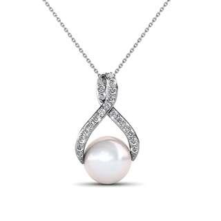 Swarovski® Crystals - Pendant Ribbon Pearl