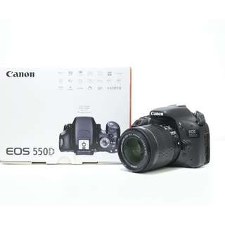Canon EOS 550D with 18-55mm STM Kit Lens