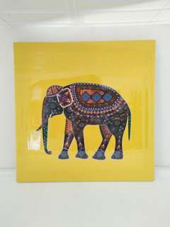 Lucky Elephant Art Canvas
