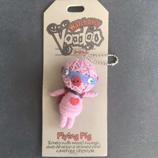 Watchover voodoo doll: flying pig