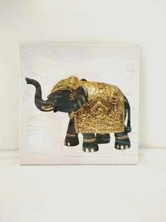 Lucky Elephant Art Canvas