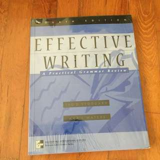 Effective writing on grammar review