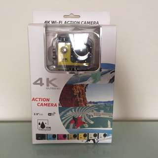 🆕4K Wifi Action Camera