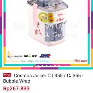 juicer cosmos CJ 355 tidak nawar free blender