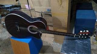 Gitar acccustik new jreng ajib new eq7545