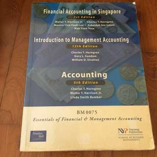 Essential of financial and management accounting
