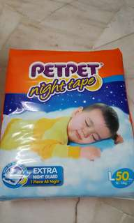 PETPET Night tape mega pack L50 - RM30 EACH