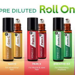 Pre diluted Essential Oils Blend Roll On