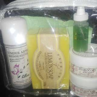 Under Arm Whitening set (Ellese's skin care)