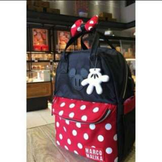 🍀Minnie mouse backpack