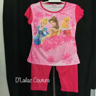 Disney Princess Hot Pink Pyjamas Last Pc Size S