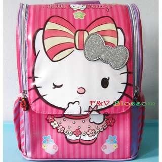Tas Sekolah Anak Ransel Backpack TK Jepang full Print HELLO KITTY PINK