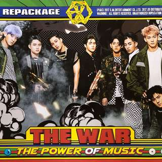 EXO THE WAR ~ Official Poster