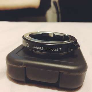 Leica M to Emount T (Black) Metabones