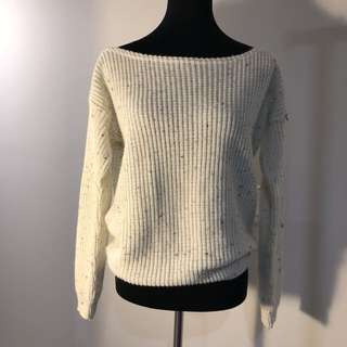 Missguided Over The Shoulder Sweater