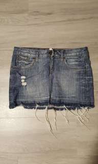 Special promo! Mango jeans skirt (XS siZe)