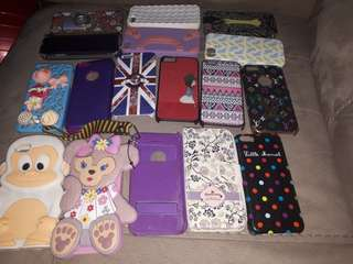 17 pcs iphone 5/5s cases take all