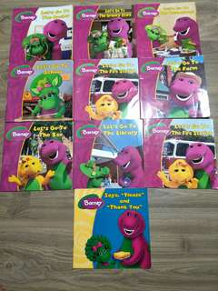 Children storybook barney