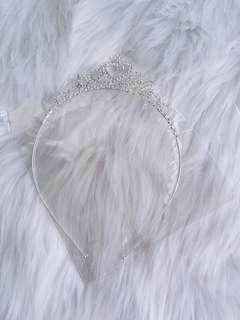 Girls crystal tiara headband