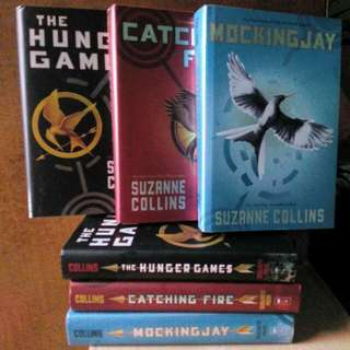 Preloved: Hunger Games Hardbound Set