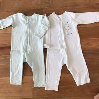 Baby Sleepsuits (12-18 months)