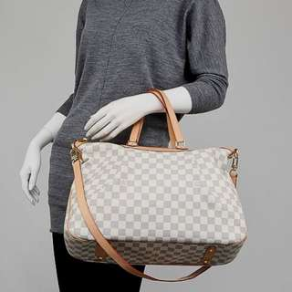 LOUIS VUITTON damier azur siracusa GM bag (2011)