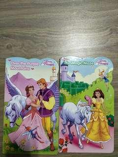 Children storybook dream princess