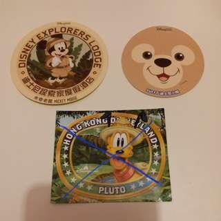 Duffy/Mickey米奇/Disney/Disneyland/迪士尼貼紙
