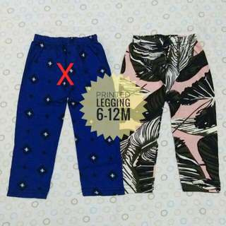 6 - 12m babies legging (brand new)