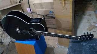 Gitar akustik elektrik ax