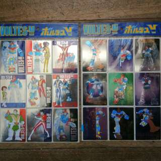 voltes V stickers 1999 set