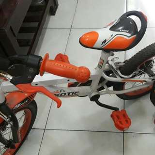 Sepeda anak merk Exotic