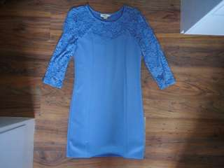 Forever21 Powder Blue Lace Dress