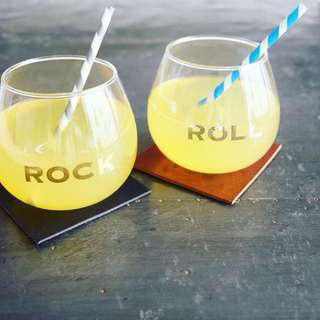 Rock and Roll Glass Japan Birthday Bar