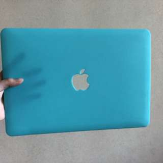 "Macbook Pro 13"" Case (Turquoise Blue)"