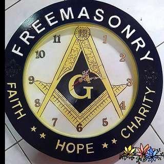 Walll Clock Mason