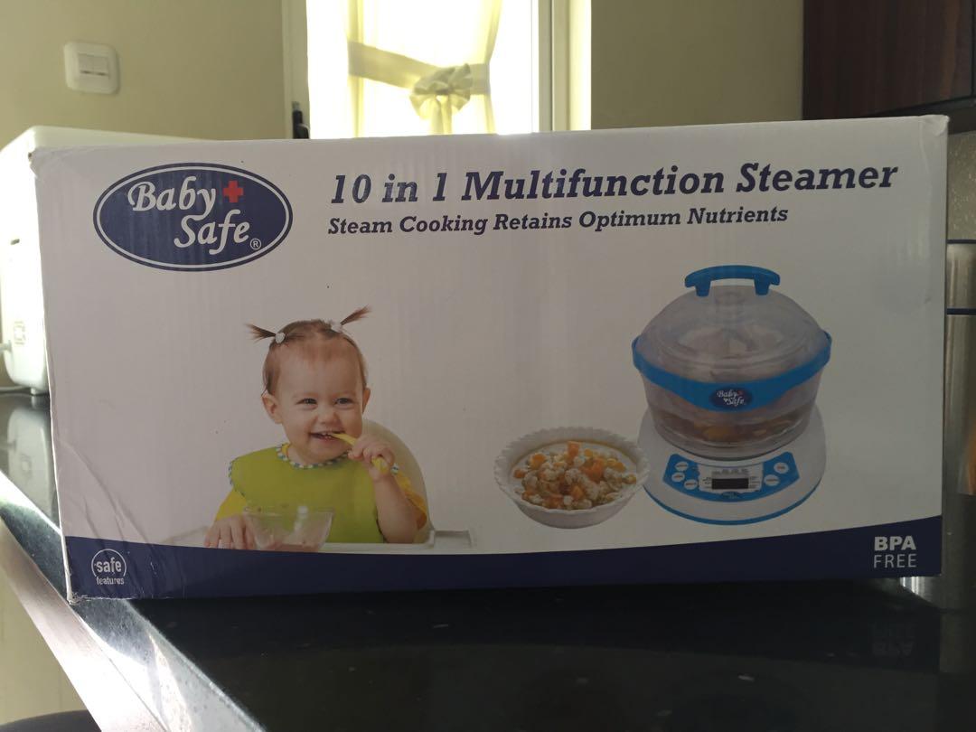 10 in 1 multifunction steamer