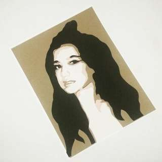 Sue Ramirez Layered Papercut Portrait