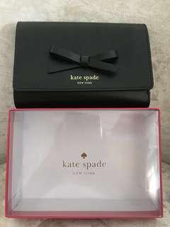 BNIB Kate Spade Callie Sawyer Street Black wallet purse
